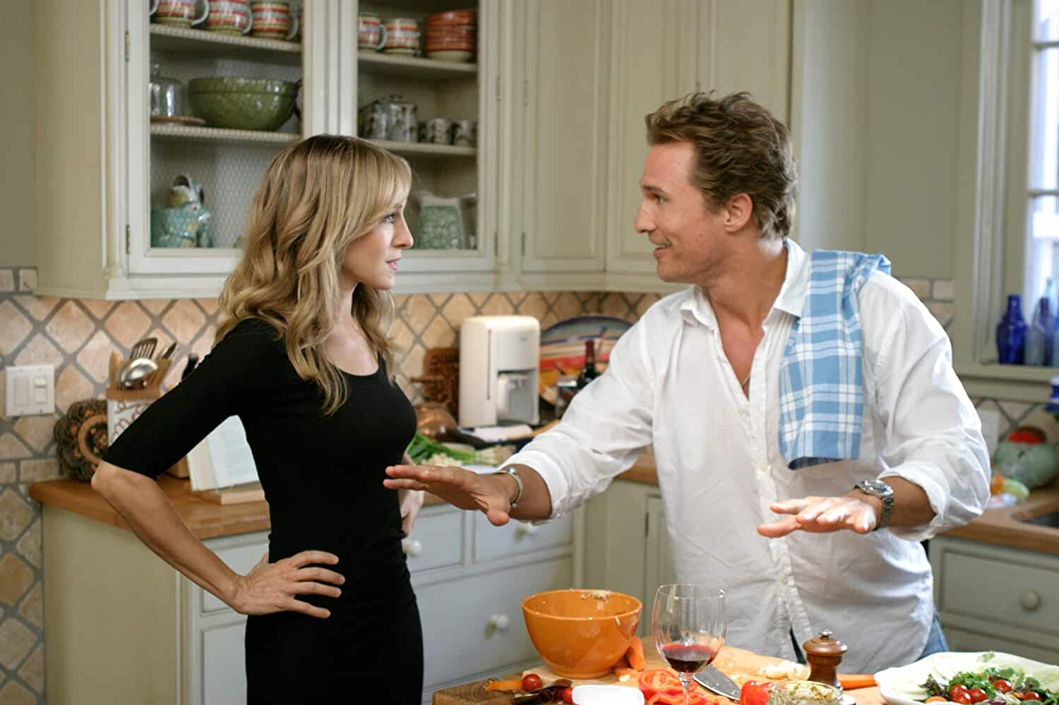 Matthew McConaughey and Sarah Jessica Parker in Failure to Launch (2006)