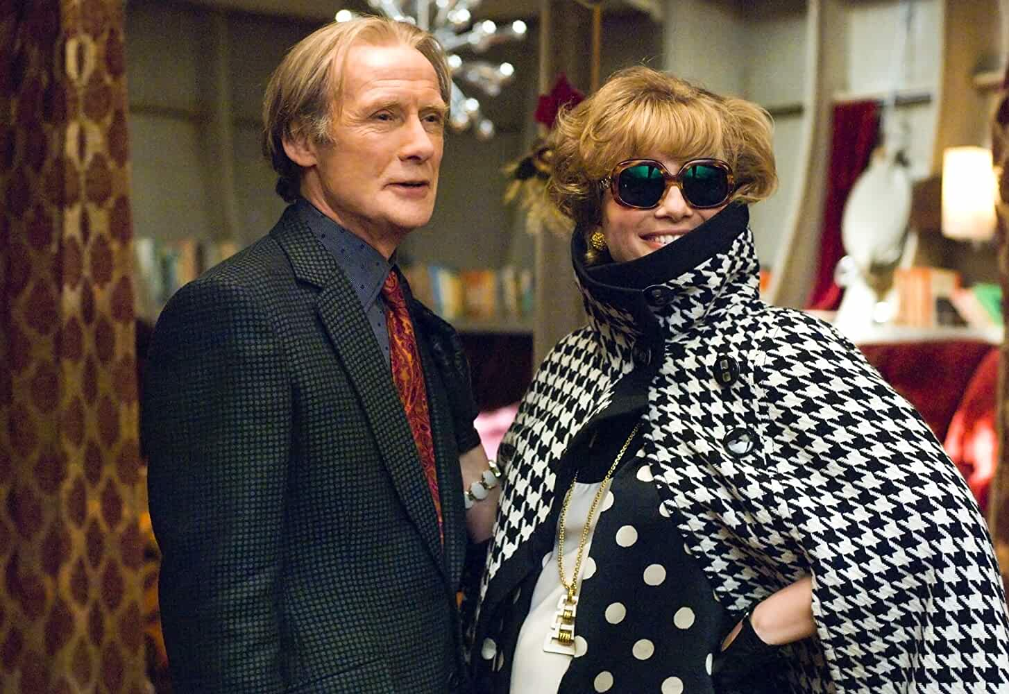 Emma Thompson and Bill Nighy in The Boat That Rocked (2009)