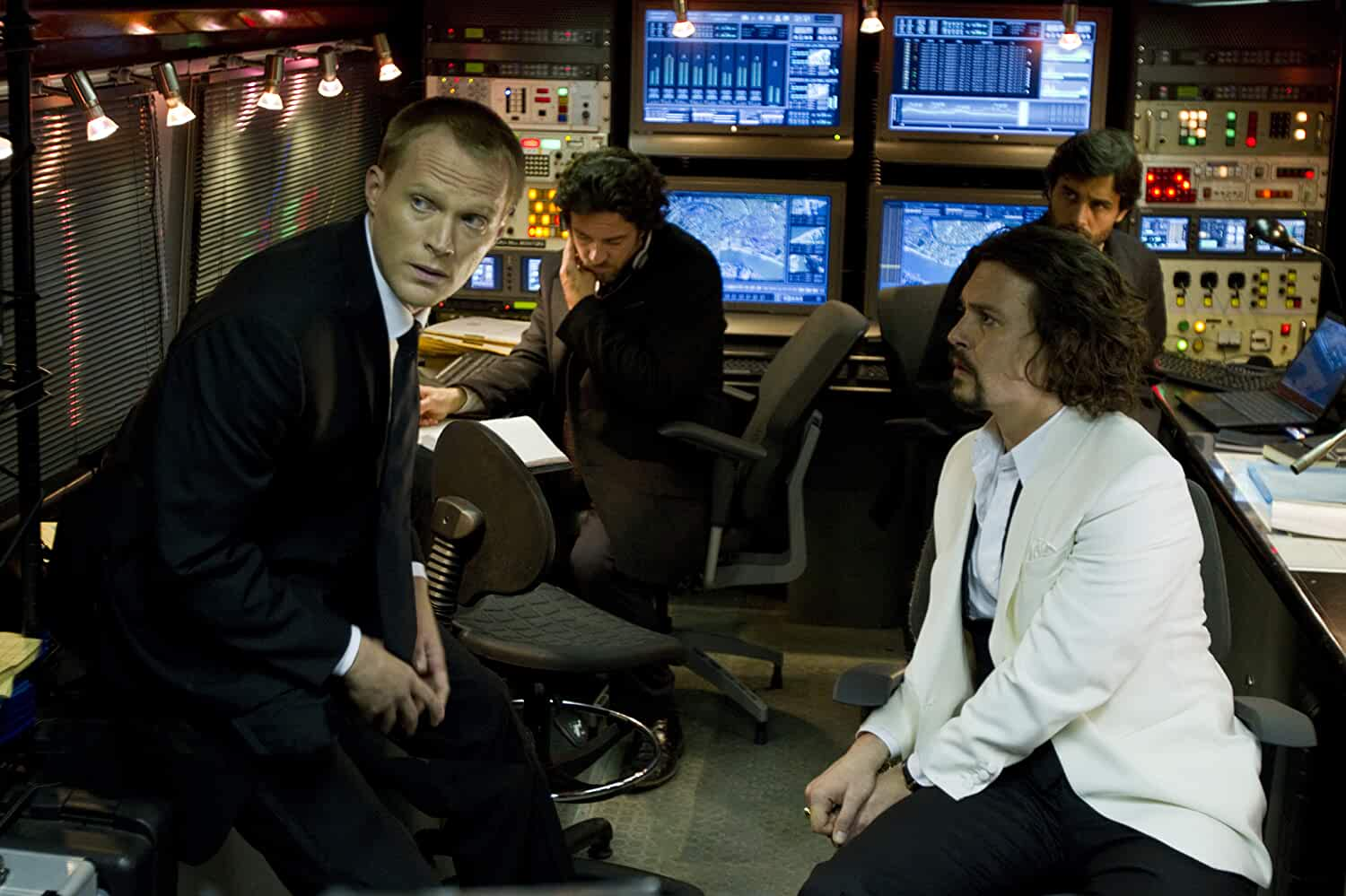 Johnny Depp and Paul Bettany in The Tourist (2010)