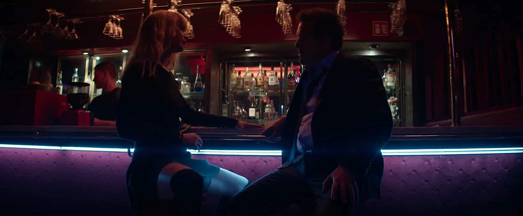 Douglas Hodge and Jennifer Lawrence in Red Sparrow (2018)
